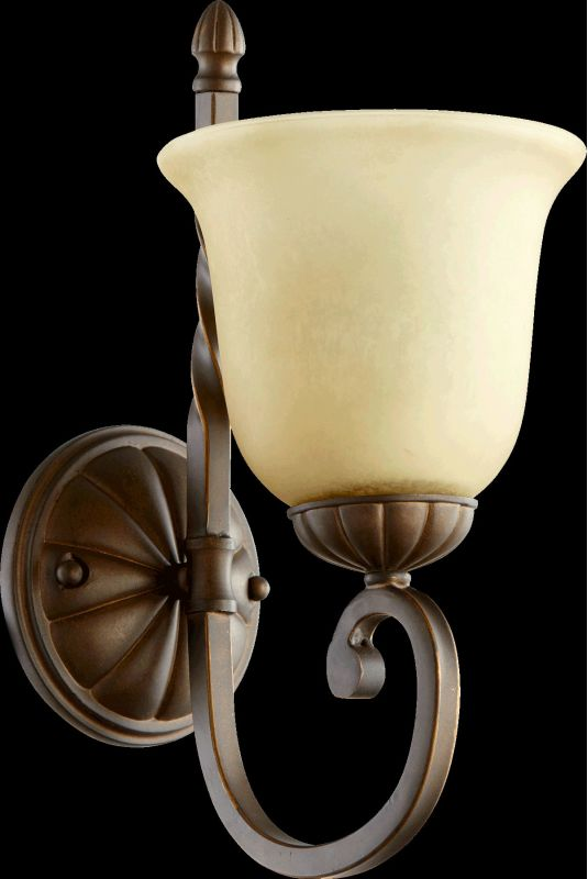 Quorum International 5478-1 Tribeca II 1 Light Bathroom Sconce Oiled
