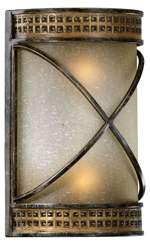 Quorum International 5518 2 Light Bathroom Vanity Light with Frosted