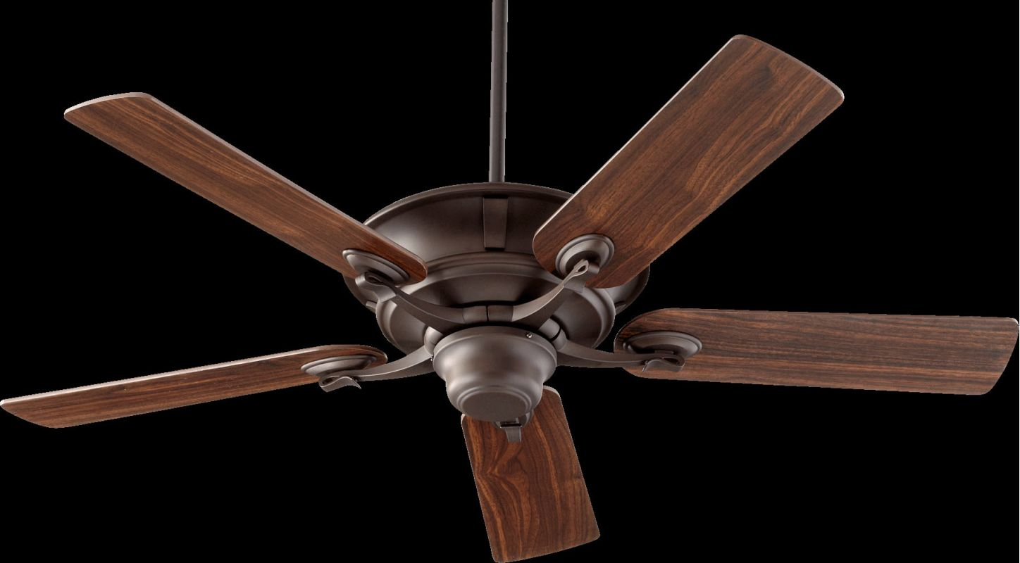 "Quorum International 56525 Lowell 52"" 5 Blade Indoor Ceiling Fan Oiled"