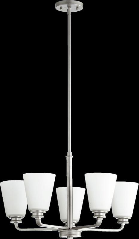 Quorum International 6002-5 Friedman 5 Light 1 Tier Chandelier Classic