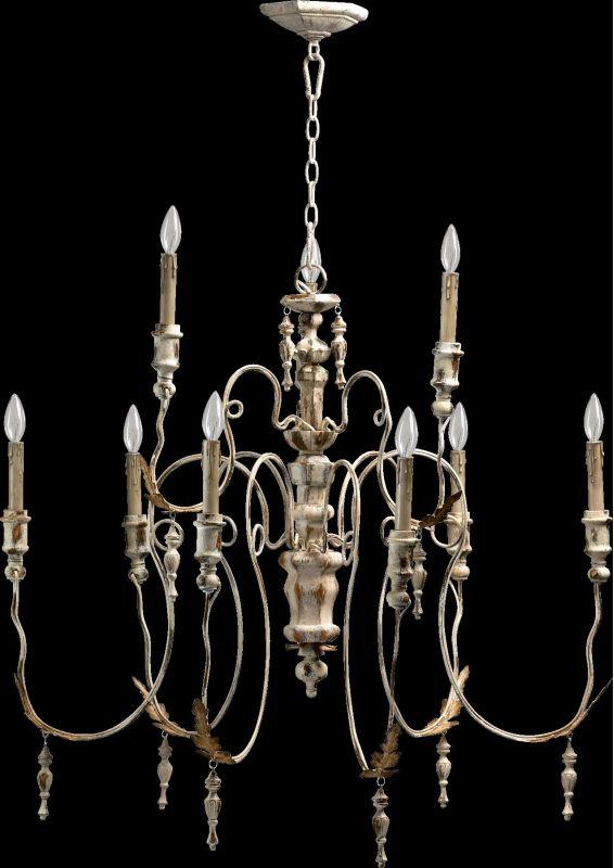 Quorum International 6006-9 Salento 9 Light 2 Tier Chandelier Persian