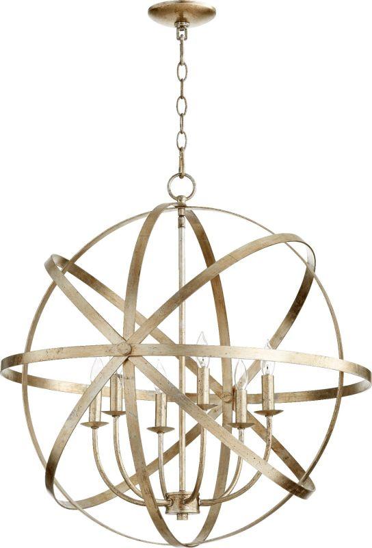 "Quorum International 6009-6 Celeste 6 Light 26"" Wide Globe Style"