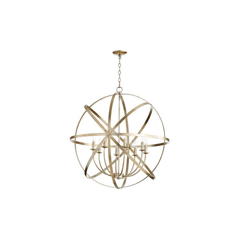 "Quorum International 6009-8 Celeste 8 Light 33"" Wide Globe Style"