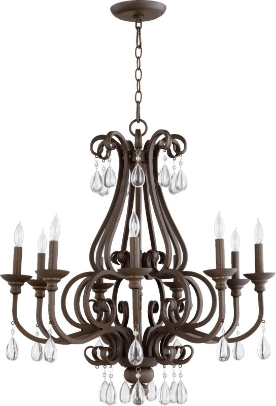 Quorum International 6113-9 Anders 9 Light 1 Tier Candle Style