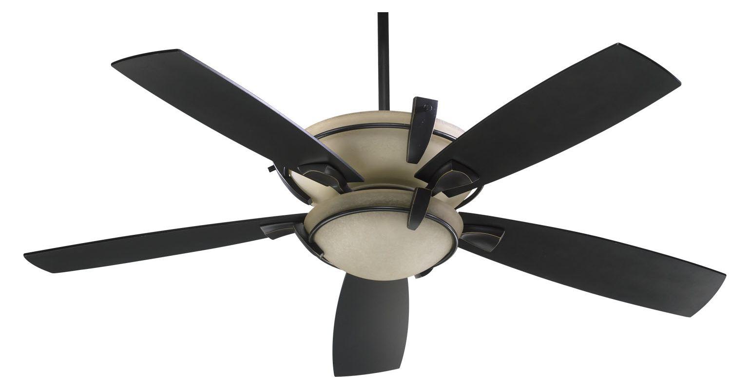 """Quorum International 61525 Mendocino 52"""" 5 Blade Indoor Ceiling Fan"""