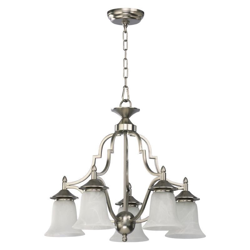 Quorum International Q616-5 5 Light Down Lighting Chandelier from the Sale $228.00 ITEM: bci366736 ID#:616-5-65 :