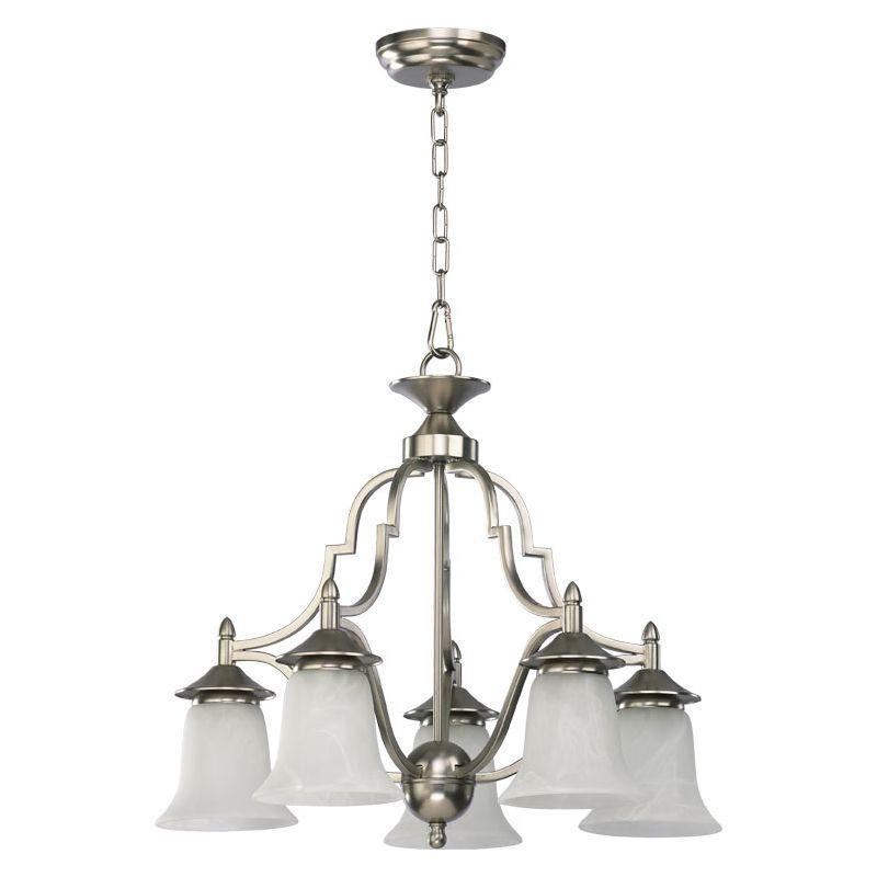 Quorum International Q616-5 5 Light Down Lighting Chandelier from the Sale $228.00 ITEM: bci366736 ID#:616-5-65 :