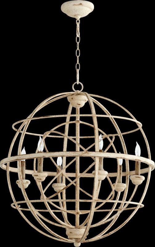 "Quorum International 6216-6 Salento 6 Light 27"" Wide Globe Style"