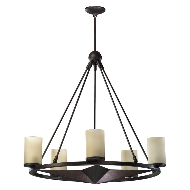 Quorum International 6228-5 Lone Star 5 Light 1 Tier Chandelier Sale $548.00 ITEM: bci730222 ID#:6228-5-44 :