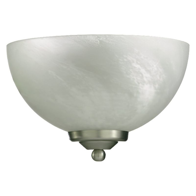 Quorum International Q625-11 Hemisphere 1 Light Bathroom Sconce Satin