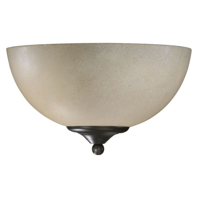 Quorum International Q625-11 Hemisphere 1 Light Bathroom Sconce Old