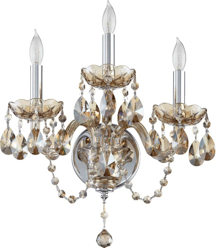 Quorum International 631-3-6 Bohemian Katerina 3 Light Candle-Style