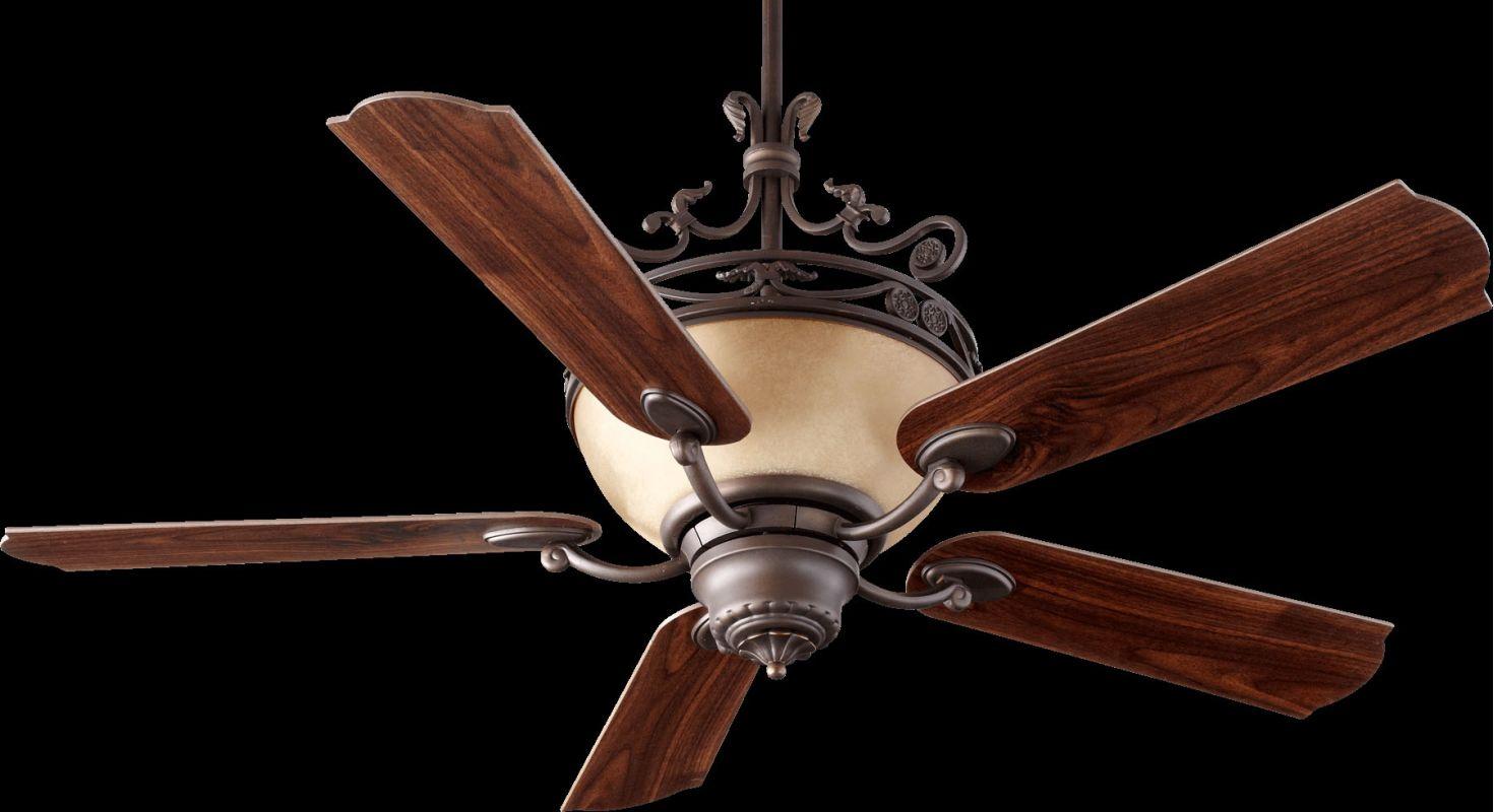 "Quorum International 63565 Turino 56"" 5 Blade Indoor Ceiling Fan Oiled"