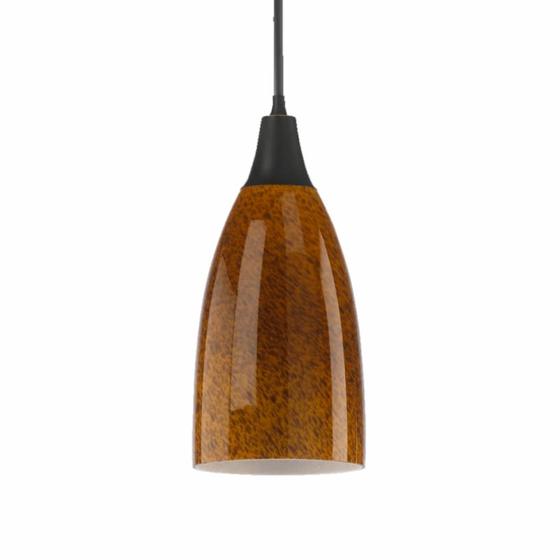 Quorum International Q6368-1 1 Light Mini Pendant with Glass Bell