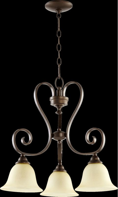 Quorum International 6453-3 Celesta 3 Light 1 Tier Down Light