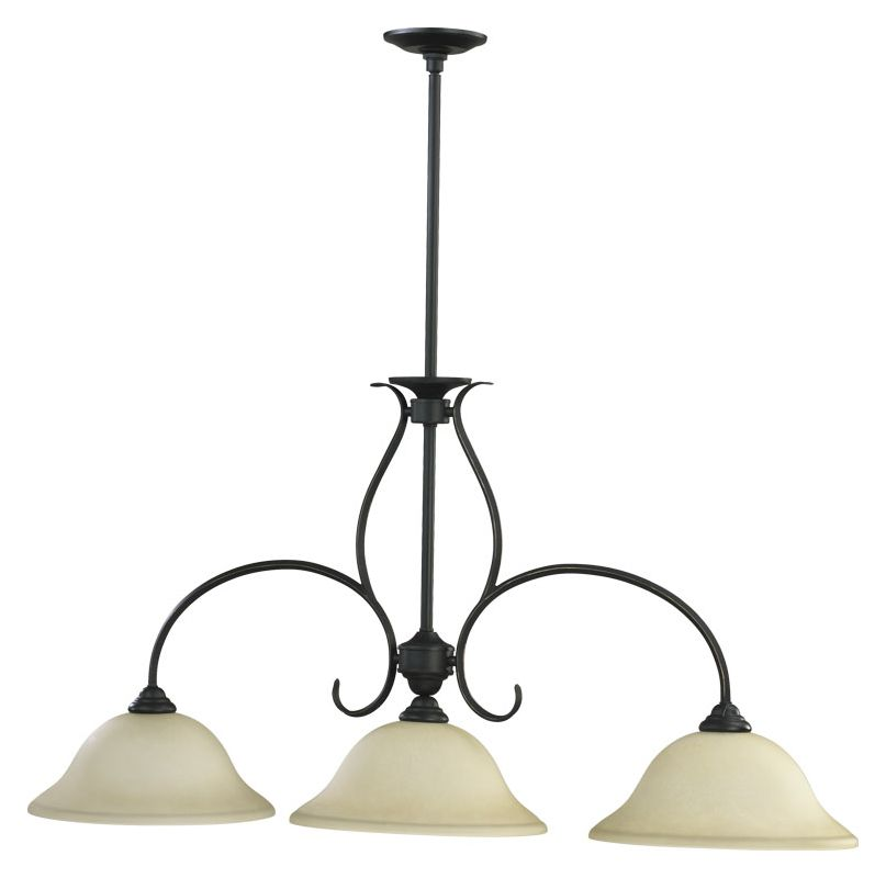 Quorum International 6510-3-95 Old World Spencer 3 Light 1