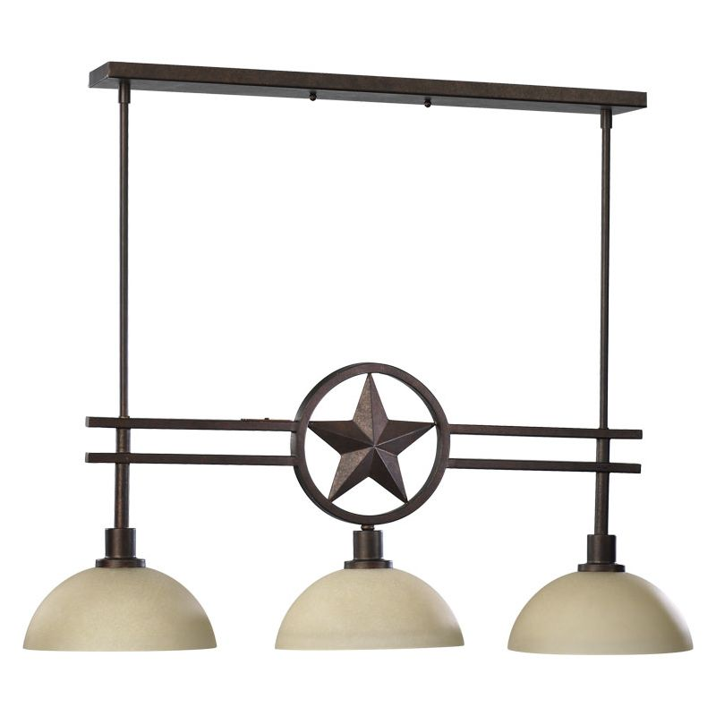 Quorum International 6528-3 Three Light Island / Billiard Fixture Sale $274.00 ITEM: bci730335 ID#:6528-3-44 :