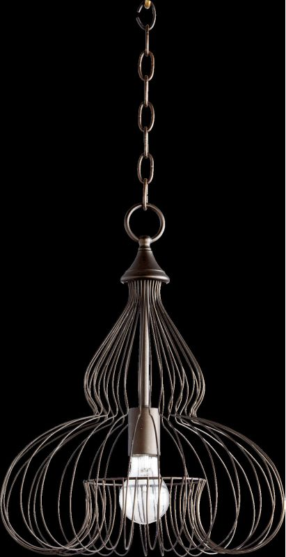 Quorum International 6777-1 1 Light Full Sized Pendant with Metal