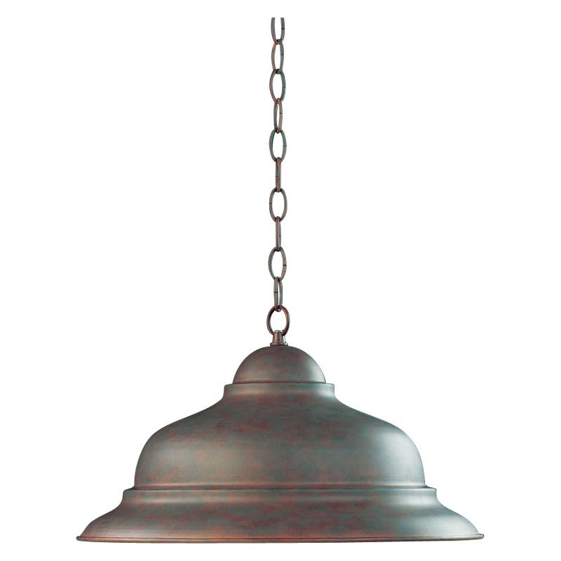 Quorum International 6820-33 Cobblestone Industrial Mooers Pendant
