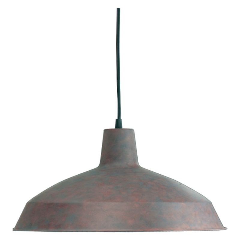 Quorum International 6822-33 Cobblestone Industrial Mooers Pendant