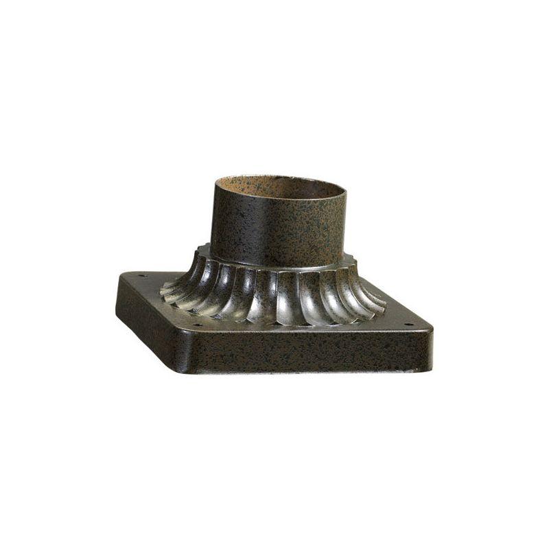 quorum international 7 102 86 oiled bronze outdoor pier. Black Bedroom Furniture Sets. Home Design Ideas