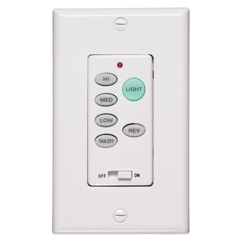 Quorum International Q7-1301-0 Fan Control with Receiver White Ceiling