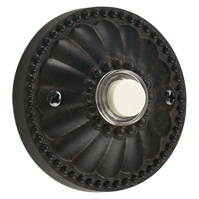 Quorum International 7-306 Lighted Round Surface Mount Button Toasted Sale $10.40 ITEM: bci730557 ID#:7-306-44 :