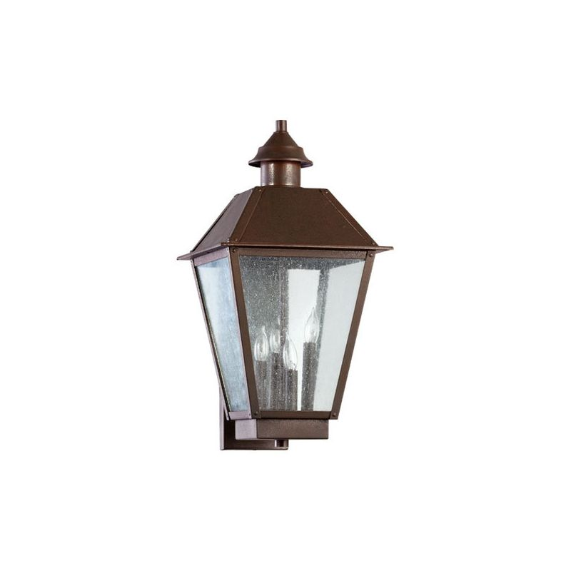 Quorum International 7024-4 Emile 4 Light Outdoor Wall Sconce Oiled