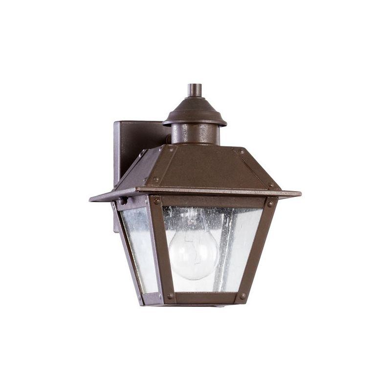 Quorum International 7024 Emile 1 Light Outdoor Wall Sconce Oiled