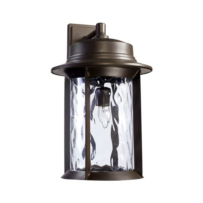 Quorum International 7246-11 Charter 1 Light Outdoor Wall Sconce Oiled Sale $190.00 ITEM: bci1703622 ID#:7246-11-86 :