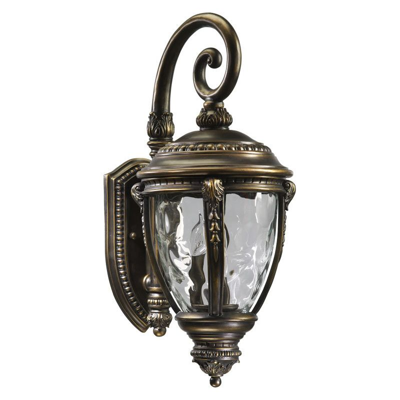 Quorum International Q7320-3 Pemberton 3 Light Outdoor Wall Sconce