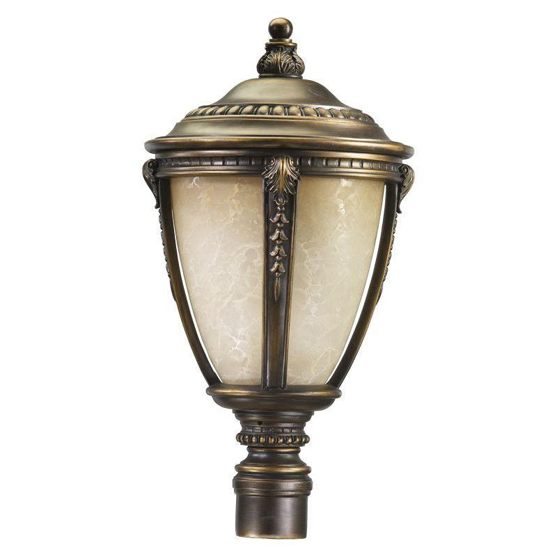 Quorum International Q7325 Pemberton 2 Light Outdoor Post Light Bronze