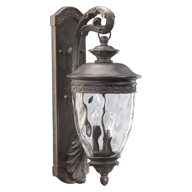 Quorum International Q7400-3 Georgia 3 Light Outdoor Wall Sconce