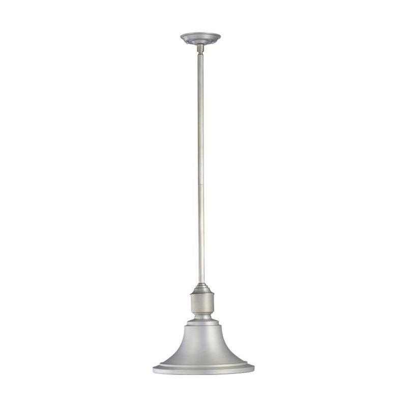 "Quorum International 762 13"" Wide Single Light Outdoor Pendant Brushed Sale $167.00 ITEM: bci1703750 ID#:762-16 :"