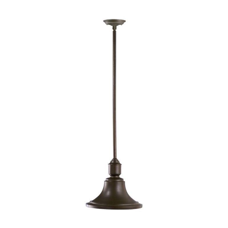 "Quorum International 762 13"" Wide Single Light Outdoor Pendant Oiled Sale $162.00 ITEM: bci1703751 ID#:762-86 :"