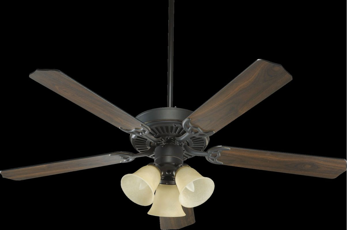 """Quorum International 77520-17 Capri VI 52"""" 5 Blade Indoor Ceiling Fan"""