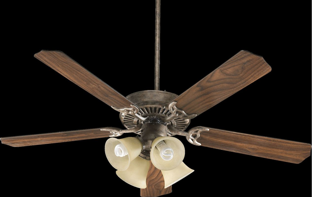 "Quorum International 77520-83 Capri V 52"" 5 Blade Indoor Ceiling Fan"