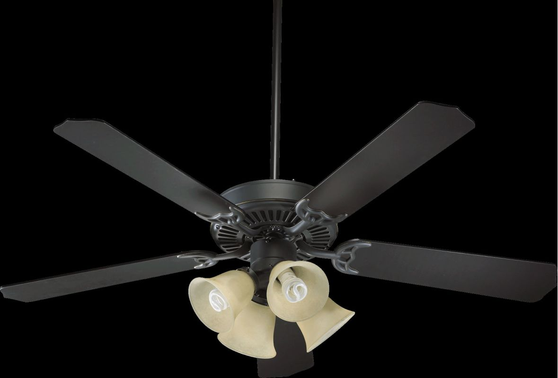 "Quorum International 77520-83 Capri V 52"" 5 Blade Indoor Ceiling Fan"