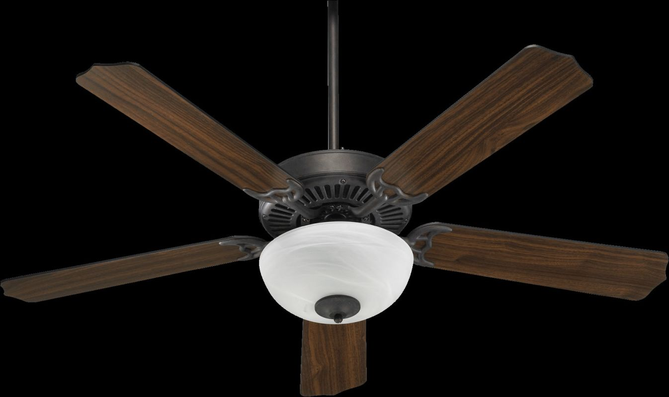 "Quorum International 77520-92 Capri III 52"" 5 Blade Indoor Ceiling Fan"