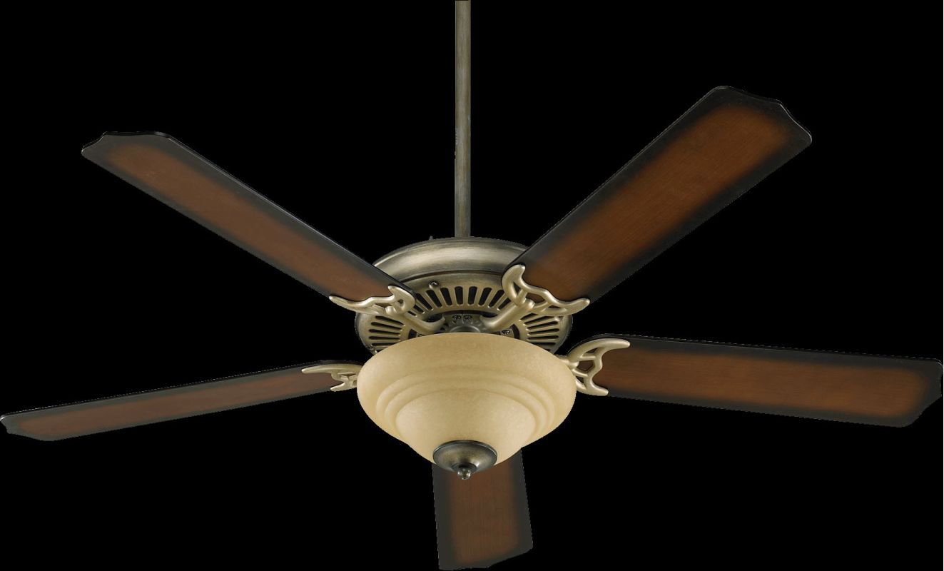 "Quorum International 77520-94 Capri III 52"" 5 Blade Indoor Ceiling Fan"