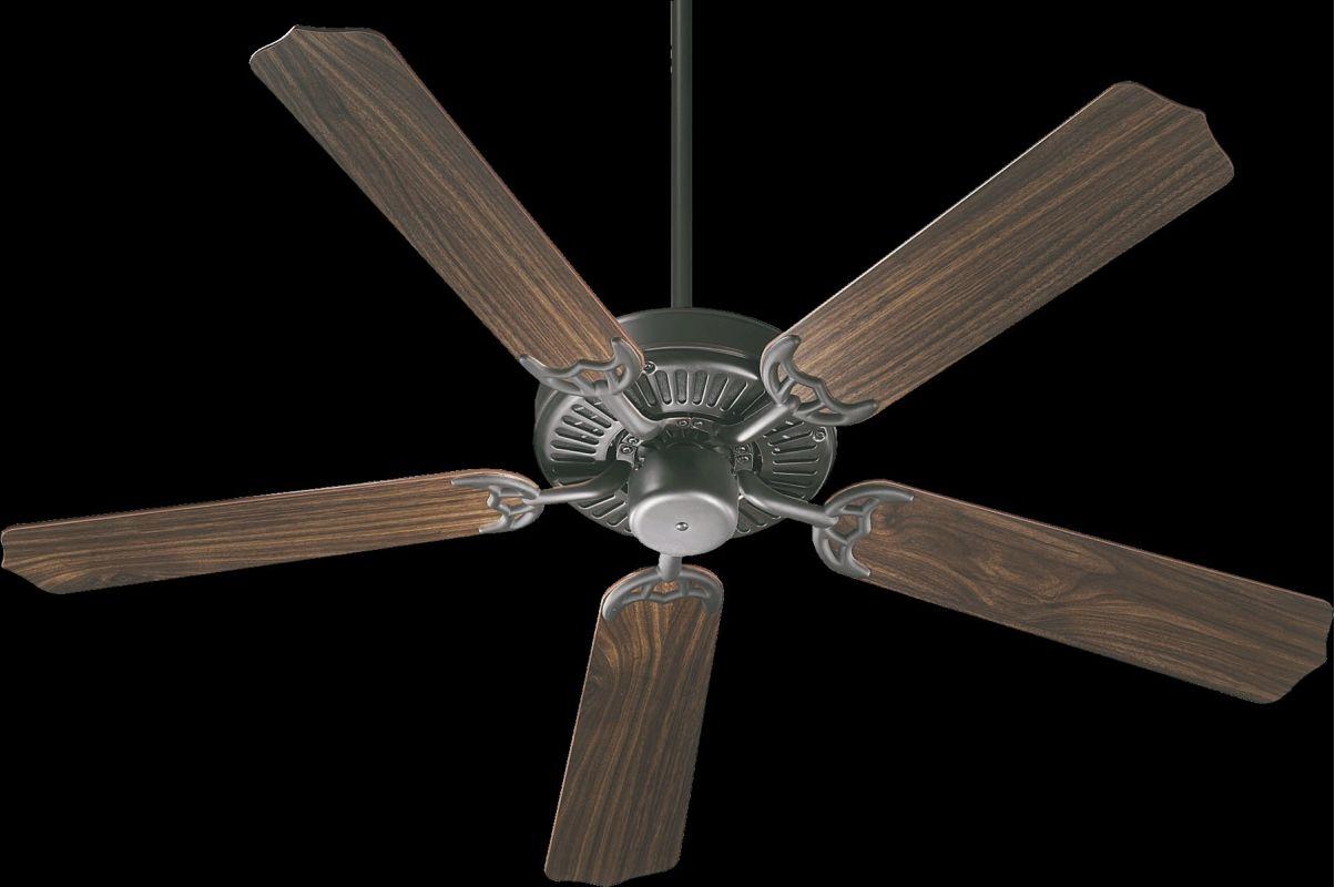 "Quorum International 77520 Capri I 52"" 5 Blade Indoor Ceiling Fan Old"