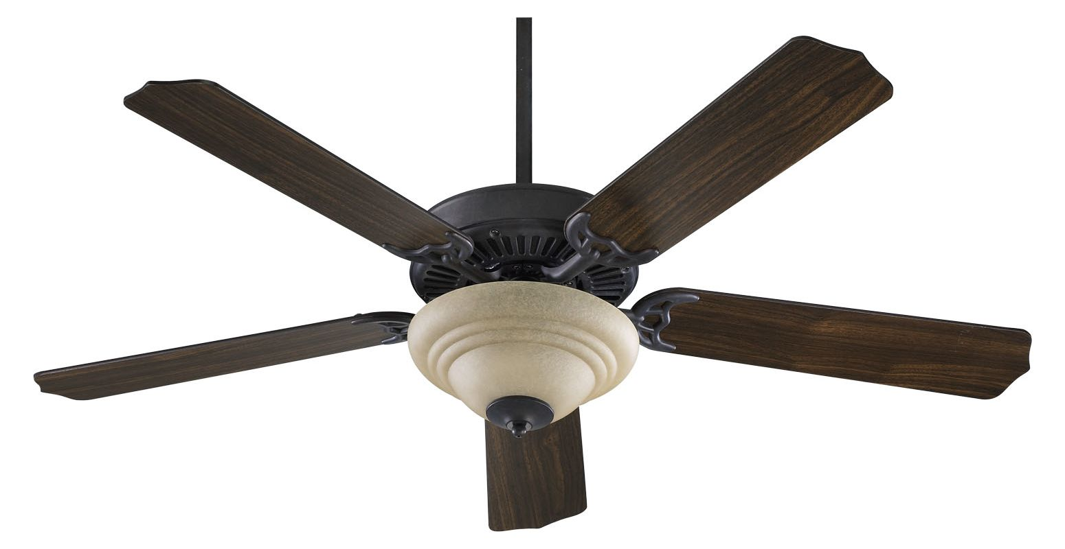 "Quorum International 77525-9444 Capri 5 Blade 52"" Ceiling Fan - Blades"