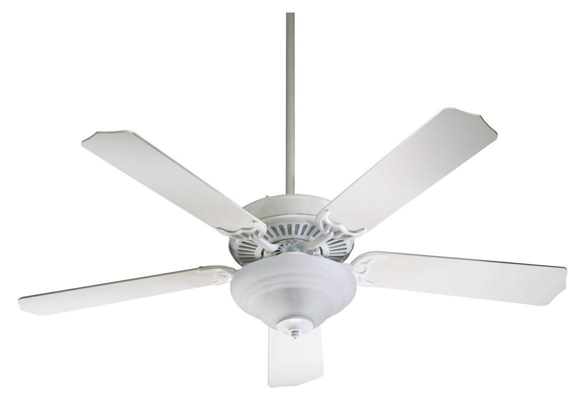 Quorum International 77525-9508 52&quote 5 Blade 2 Light Ceiling Fan -