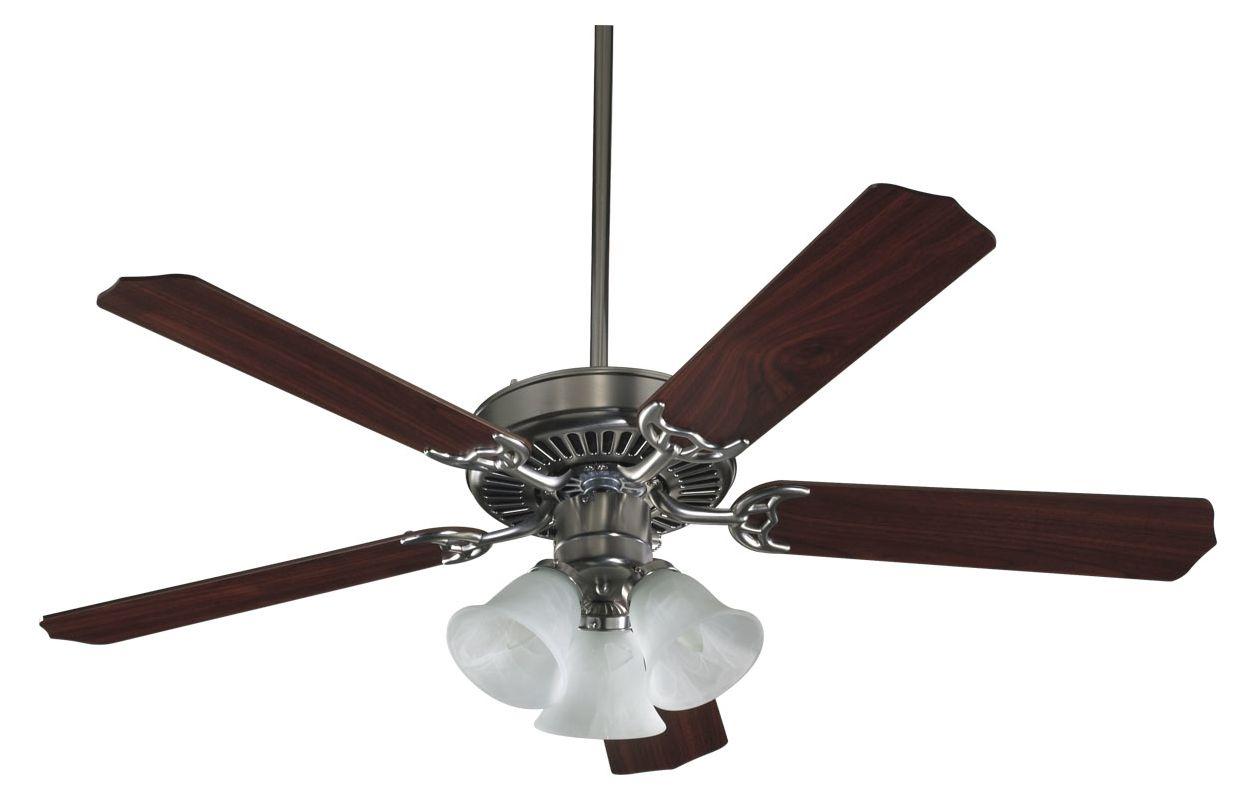 "Quorum International 7752516652 52"" 5 Blade 3 Light Ceiling Fan -"