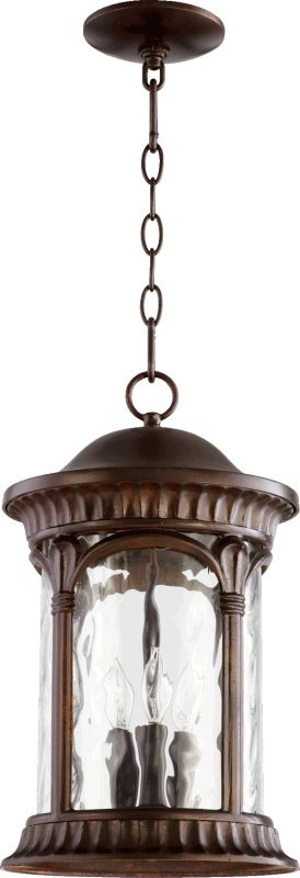Quorum International 7902-3 Riviera 3 Light Outdoor Lantern Pendant