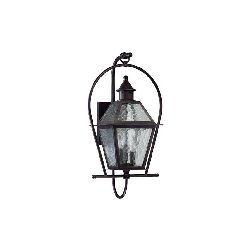 Quorum International 7919-3 Bourbon Street 3 Light Outdoor Wall Sconce