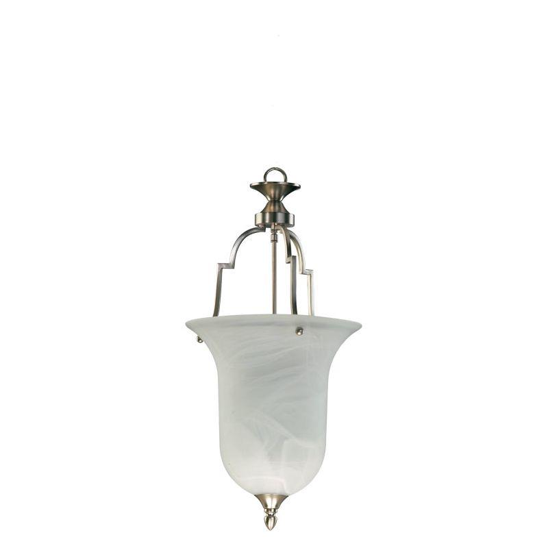 Quorum International Q817 Coventry 1 Light Full Sized Pendant Satin Sale $191.00 ITEM: bci367942 ID#:817-65 :