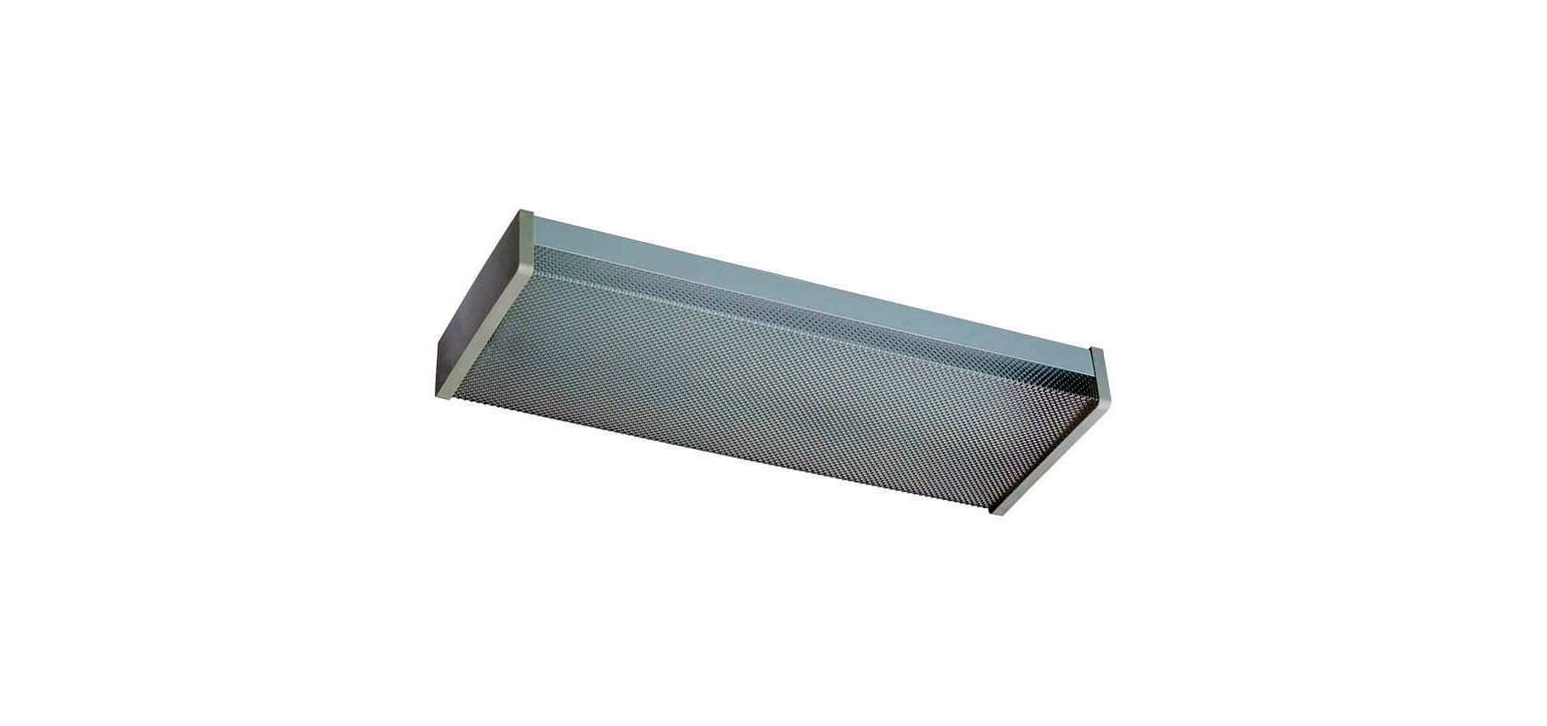 Quorum International Q82124-2 2 Light Flushmount Fluorescent Fixture