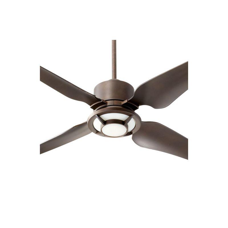 """Quorum International 82524 Axel 52"""" 4 Blade Indoor Ceiling Fan Oiled"""