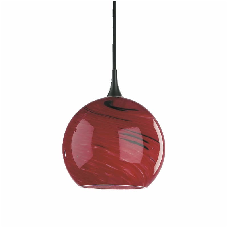 Quorum International Q865 1 Light Mini Pendant with Glass Globe Shade